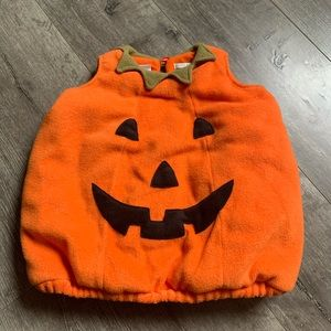 New Carter/'s Orange Pumpkin Jack O Lant Halloween Top NWT 2T 3T 4T 5T 6 7 8 Kid